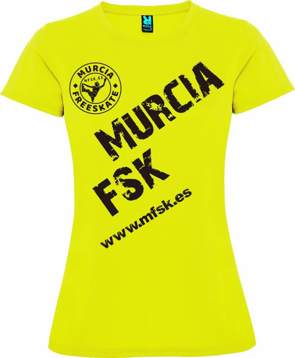 Camiseta Técnica Chica MFSK 18/19