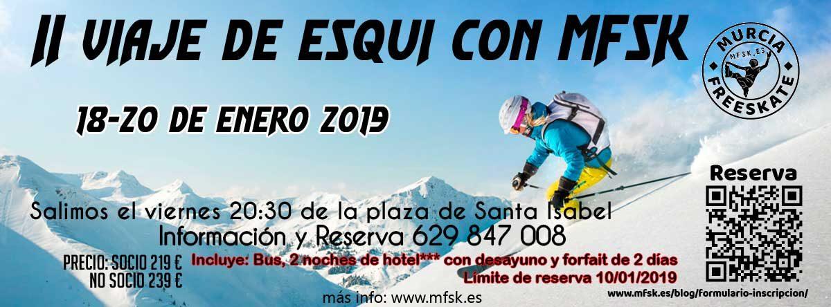 Viaje a Sierra Nevada Murcia FSK