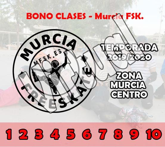 Bono 10 Clases Murcia Centro