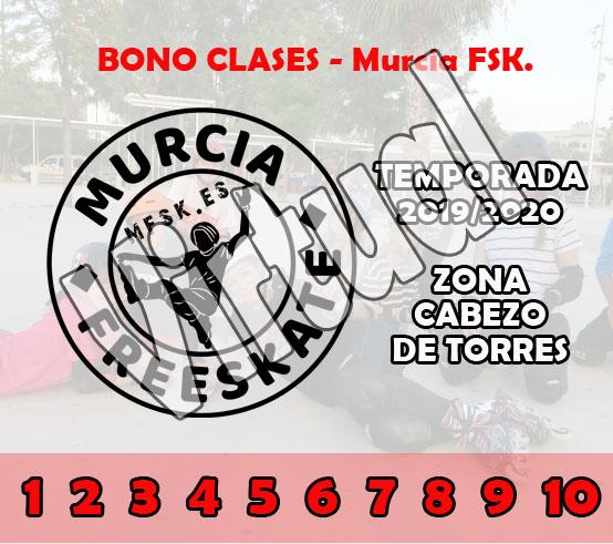 Bono 10 Clases Cabezo Torres